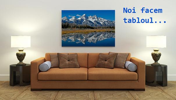 Exemplu tablou CanvasART